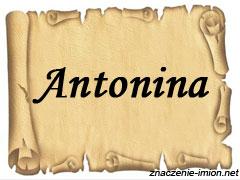 znaczenie_imienia_antonina