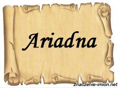znaczenie_imienia_ariadna