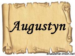 znaczenie_imienia_augustyn