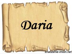 znaczenie_imienia_daria