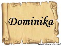 znaczenie_imienia_dominika