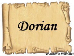 znaczenie_imienia_dorian