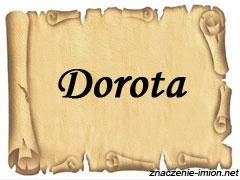 znaczenie_imienia_dorota