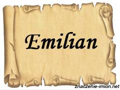 znaczenie_imienia_emilian