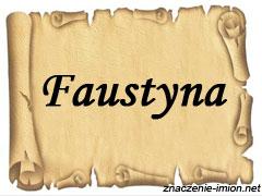 znaczenie_imienia_faustyna