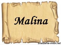 znaczenie_imienia_malina
