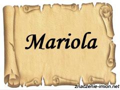 znaczenie_imienia_mariola