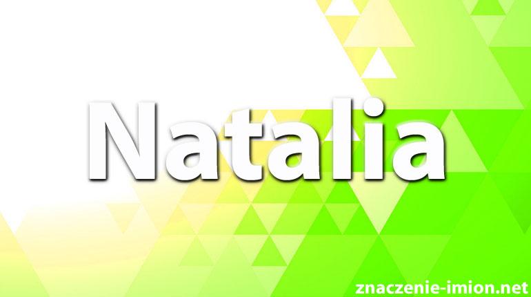 Natalia Znaczenie Imion