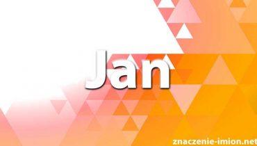 znaczenie imienia Jan