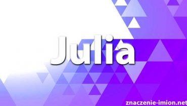znaczenie imienia julia