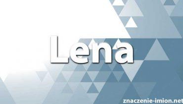 znaczenie imienia lena
