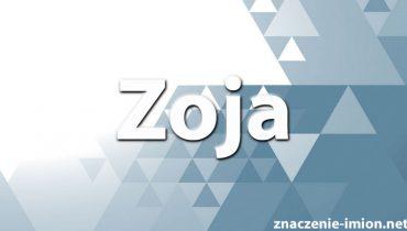 znaczenie imienia zoja