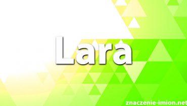 znaczenie imienia lara