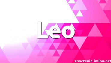 znaczenie imienia leo