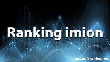 ranking imion