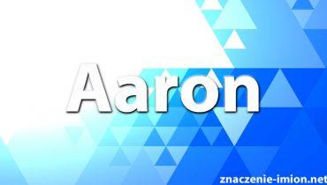 znaczenie imienia aaron