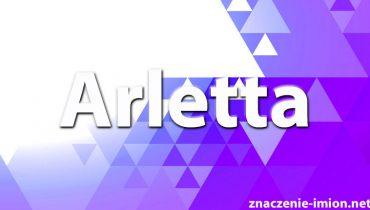 znaczenie imienia arletta